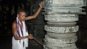 పిల్లలమర్రి-సప్తస్వరాల స్తంబం